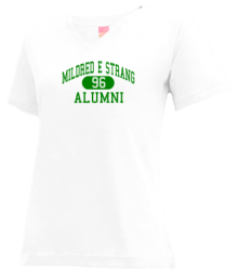 Mildred E Strang Middle School  V-neck Shirts