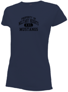 Military Heights Elementary School  Slimfit T-Shirts