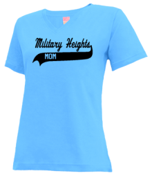 Military Heights Elementary School  V-neck Shirts