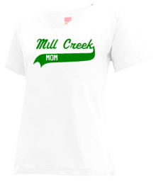 Mill Creek Elementary School  V-neck Shirts