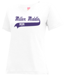Miller Middle School  V-neck Shirts
