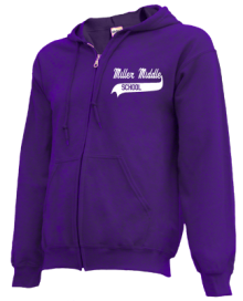 Miller Middle School  Zip-up Hoodies
