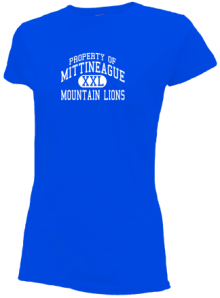 Mittineague Elementary School  Slimfit T-Shirts