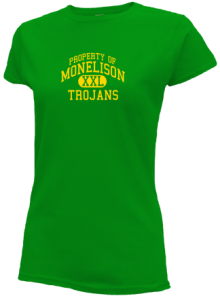 Monelison Middle School  Slimfit T-Shirts