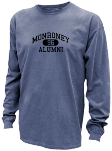 Monroney Junior High School Pigment Dyed Shirts