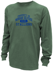 Morgan Selvidge Middle School  Pigment Dyed Shirts