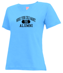 Morse Young Child Magnet School  V-neck Shirts