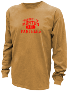 Morton Middle School  Pigment Dyed Shirts