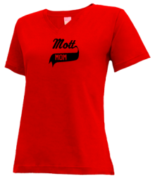 Mott Elementary School  V-neck Shirts