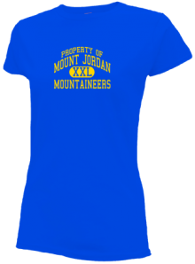 Mount Jordan Middle School  Slimfit T-Shirts