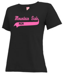Mountain Side Elementary School  V-neck Shirts