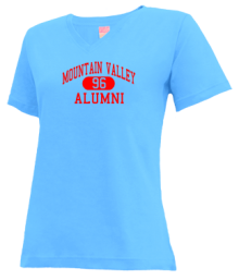 Mountain Valley Middle School  V-neck Shirts
