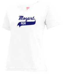 Mozart Elementary School  V-neck Shirts