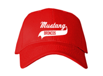 Mustang Middle School  Baseball Caps