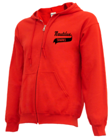 Nautilus Middle School  Zip-up Hoodies