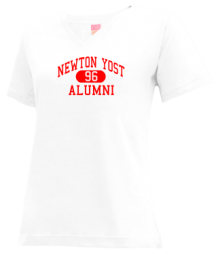 Newton Yost Elementary School  V-neck Shirts