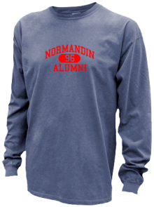 Normandin Junior High School Pigment Dyed Shirts