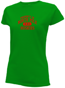 North Pole Elementary School  Slimfit T-Shirts
