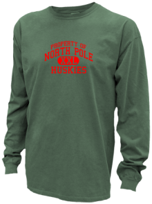North Pole Elementary School  Pigment Dyed Shirts