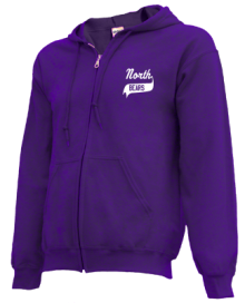 North Primary School  Zip-up Hoodies