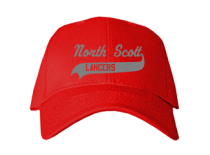 North Scott Junior High School Baseball Caps