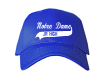 Notre Dame Middle School  Baseball Caps