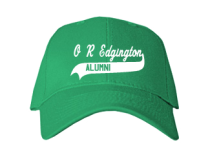 O R Edgington Elementary School  Baseball Caps