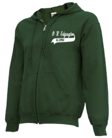 O R Edgington Elementary School  Zip-up Hoodies