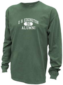 O R Edgington Elementary School  Pigment Dyed Shirts