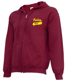 Oakley Elementary School  Zip-up Hoodies