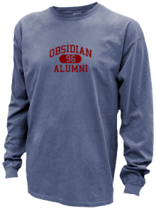 Obsidian Middle School  Pigment Dyed Shirts