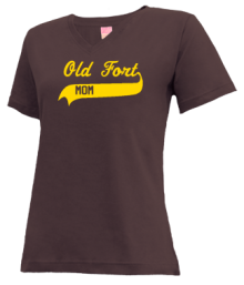 Old Fort Elementary School  V-neck Shirts