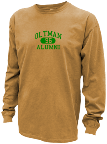 Oltman Junior High School Pigment Dyed Shirts
