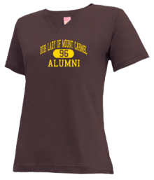 Our Lady Of Mount Carmel School  V-neck Shirts