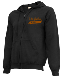 Our Lady Of Mount Carmel School  Zip-up Hoodies