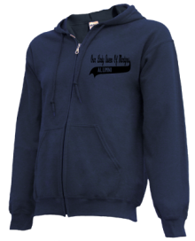 Our Lady Queen Of Martyrs School  Zip-up Hoodies