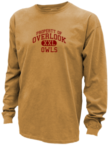 Overlook Elementary School  Pigment Dyed Shirts