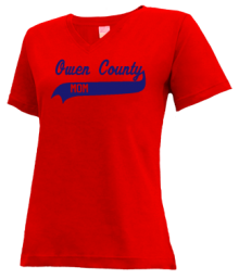 Owen County Elementary School  V-neck Shirts