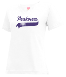 Peakview Elementary School  V-neck Shirts