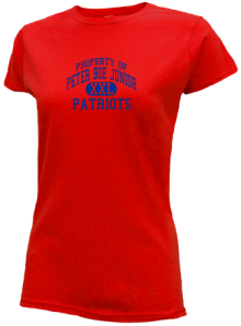Peter Boe Junior Elementary School  Slimfit T-Shirts
