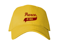 Pierce Middle School  Baseball Caps