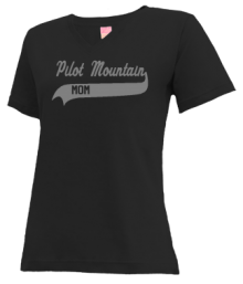 Pilot Mountain Middle School  V-neck Shirts