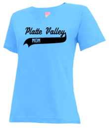 Platte Valley Elementary School  V-neck Shirts