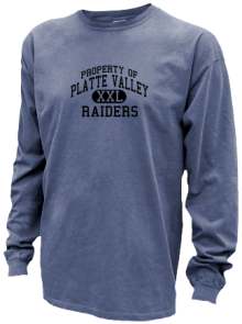 Platte Valley Elementary School  Pigment Dyed Shirts