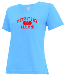Pleasant Lake Elementary School  V-neck Shirts