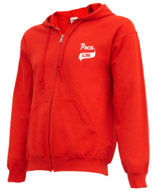 Poca Middle School  Zip-up Hoodies