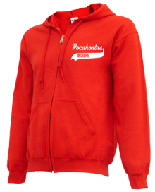 Pocahontas Junior High School Zip-up Hoodies