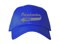 Pocahontas Middle School  Baseball Caps