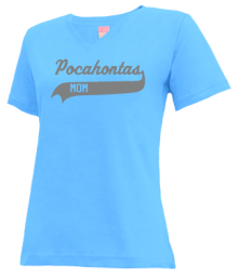 Pocahontas Middle School  V-neck Shirts