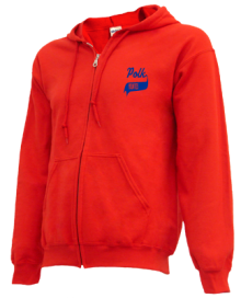 Polk Elementary School  Zip-up Hoodies